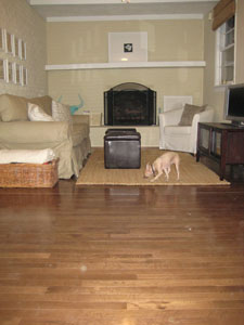 Totally Floored: Our Hardwood Floors Are All Installed!
