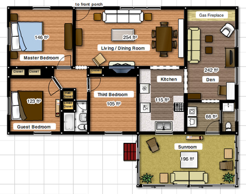 Floorplanner Making 2d House Plans