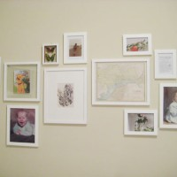 Nailed It: Creating A Gallery Wall In The Guest Room