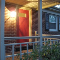 Picking The Right Red Color & Painting Our Front Door
