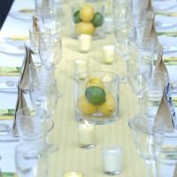 Wedding Week: Favors, Decor, Table Settings, & Photostrips