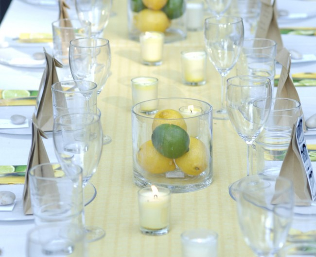 Wedding Week: Favors, Decor, Table Settings, & Photostrips
