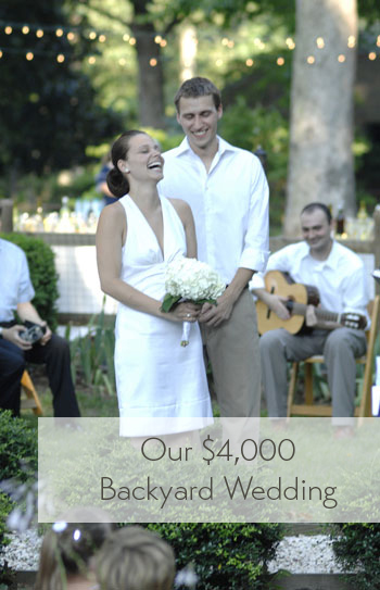 Dress For Backyard Wedding our $4000 backyard wedding | young house love