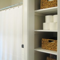 Removing Our Linen Closet Door For A More Open Look