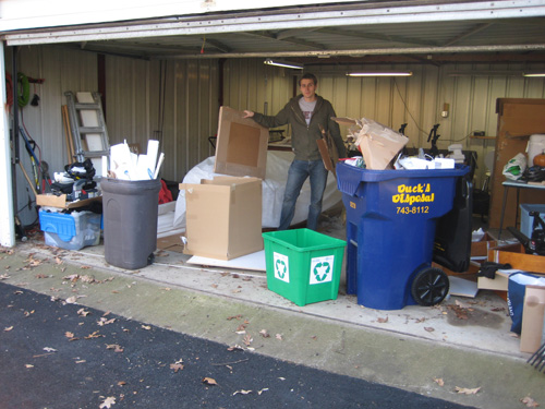 Organizing Our Crazy Messy Garage