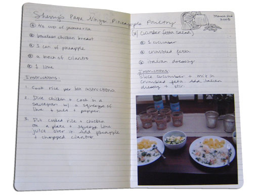 Cute Couples Tradition: Make Your Own Personal Cookbook