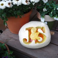 Making A Monogrammed Pumpkin & An Ornate Carving