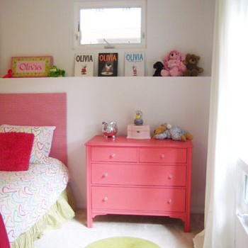 Eight Year Old Olivia's $200 Bedroom Makeover