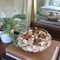 A Sweet & Cheap Holiday Gift: Paperwhites & River Rocks