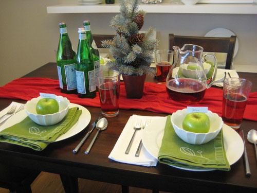 Set The Table For Christmas Dinner With Style This Holiday Season - Christmas Table Settings : setting a table for christmas - pezcame.com
