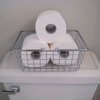 Three Chic Ways To Store Toilet Paper Out In The Open