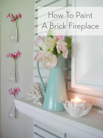 how-to-paint-a-brick-fireplace
