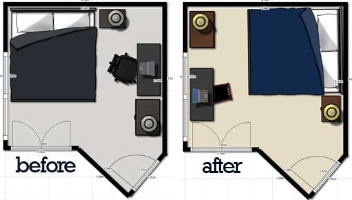 Rearranging An Apartment Bedroom
