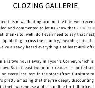 CloZing Gallerie
