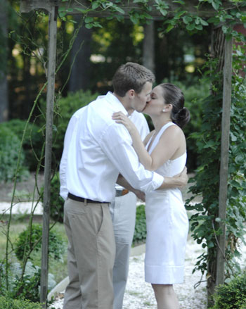 kissing-wedding-picture-1 | Young House Love