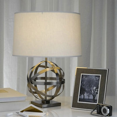 Announcing the winner of a lucy accent table lamp courtesy of speaking of easy someone just scored this antique nickel clad lucy accent lamp for simply telling us what they miss most about their college town and that aloadofball Images