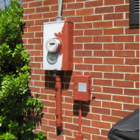 How To Paint Ugly Utility Boxes & Propane Tanks So They Blend