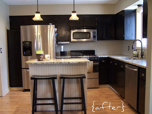 Kitchen After Makeover Affordable Overhaul Home Makeover
