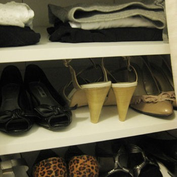 Closet Crashing: Our Very Own Digs