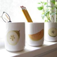 Fresh Fruit: Making Cute Decoupaged Vases & Planters