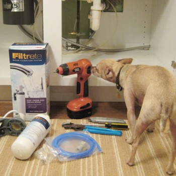 How To Install A Water Filtration System Under The Sink