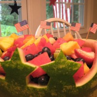 Patriotic Produce: Carving A Watermelon For The 4th Of July