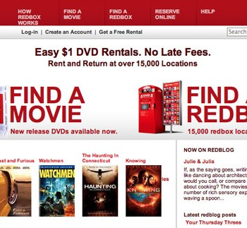 Living-On-Less-Redbox