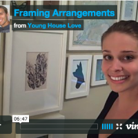 Framing Arrangements & Art Hanging Ideas (On Video)
