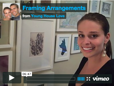 Framing Arrangements & Art Hanging Ideas (On Video)
