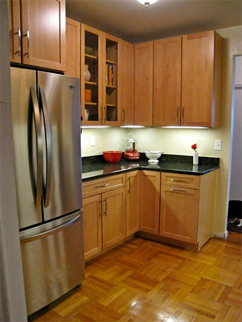 A City Kitchen Goes From Small To Sleek