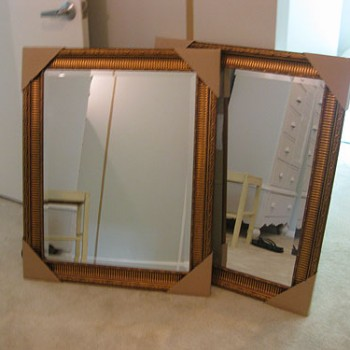 Painting & Hanging Two Mirrors To Act As Windows