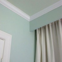 Painting Our Bedroom Ceiling A Soft Green Color
