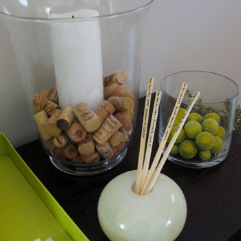 Romantic Traditions: Displaying Keepsakes Like Chopsticks!