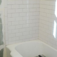 How To Install Subway Tile In A Shower & Marble Floor Tiles