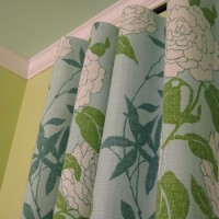 How To Make No-Sew Curtains (And Make A Window Look Way Bigger)