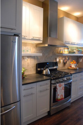 Reader Redesign: One Seriously Swanky Kitchen