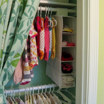 Painting, Upgrading, And Organizing The Nursery Closet
