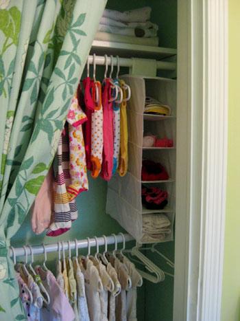 Painting, Upgrading, And Organizing The Nursery Closet