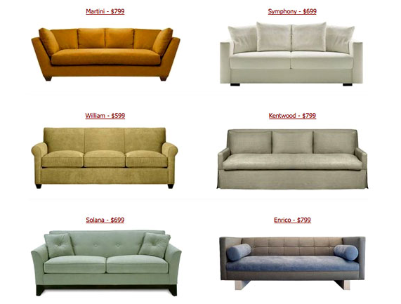 The Look For Less? Cheap Couches From Custom Sofa Design