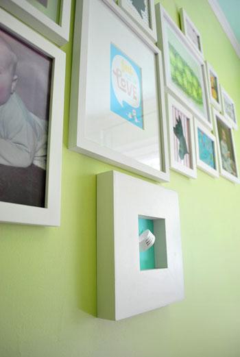 Nursery Progress: Adding Some Art