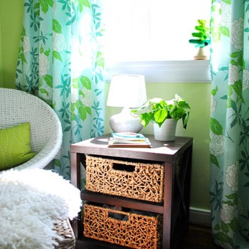 The Big Nursery Reveal: A Green & Blue Room For Our Girl
