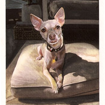 A Wilder Watercolor: Freebie Winner!