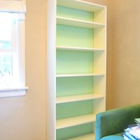 Making An Ikea Bookcase Look Built In (& Painting The Back)