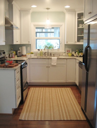 How To Warm Up A White Kitchen (& Add Personality)