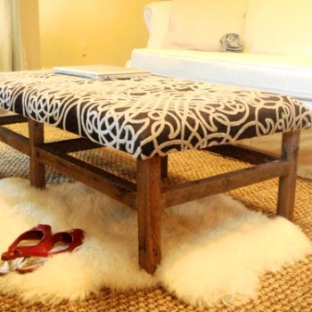 Let's Build It: Kara's Amazing DIY Ottoman