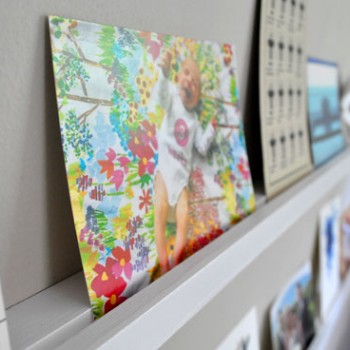 How To Make Wall Shelves For Postcards & Art (It's Easy!)