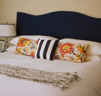 Reader Redesign: Another Fun DIY Headboard
