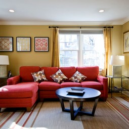 controversial decorating issues red sofa breaks rule of neutral furniture
