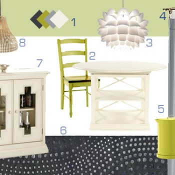 Mood Board Making: French + Modern = Eclectic