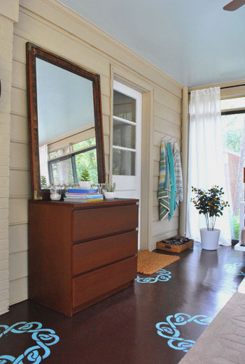 Our Mini Sunroom Makeover: The Big Reveal